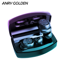 ANRY TWS 8 Plus Wireless Bluetooth Earphones V5.0 2200mAh Charge Sport Touch Control Headphone IPX5 With Ear hook