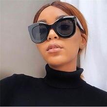 2020 di plastica Dell'annata Occhiali Da Sole di Lusso Delle Donne di Viaggio All'aria Aperta Sexy Del Progettista Retro Occhiali Da Sole Tonalità di Bianco Nero droshipping