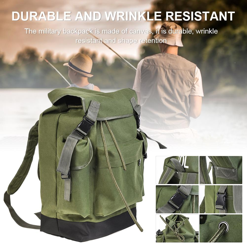 70L Outdoor Pack Large Capacity Fishing Gear Bag Climbing Backpacks Military Assault Bags For Trekking Camping Hunting Bag 3