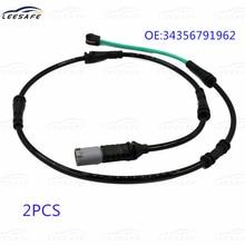 2PCS Rear Axle Right Brake Pad Wear Sensor for BMW 5 F10 F11 6 Series F06 F12 F13 OEM NO 34356791962 Electrical Indicator