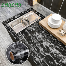 24 Marble Colors Table Wallpaper Self Adhesive Waterproof Wall Sticker for Bathroom Kitchen Furniture Renovation Removable Decal