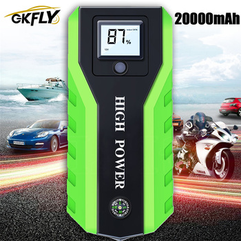 GKFLY Emergency 20000mAh 1000A Car Jump Starter 12V Starting Device Power Bank Car Battery Booster Charger For Gasoline Diesel image