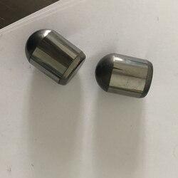 100 pièces de carbure de tungstène dents de boule D16x22mm boutons de carbure cémenté personnalisé DTH foret insère le peu de balle de roche pour l'exploitation minière