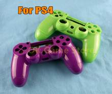 5Sets Voor PS4 Sony Playstation 4 Controller Case Plastic Behuizing Shell Case Met Knop Sets Game Controller Accessoire