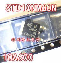 Free shipping 50PCS 10N60 FQD10N60C STD10NM60N TO 252