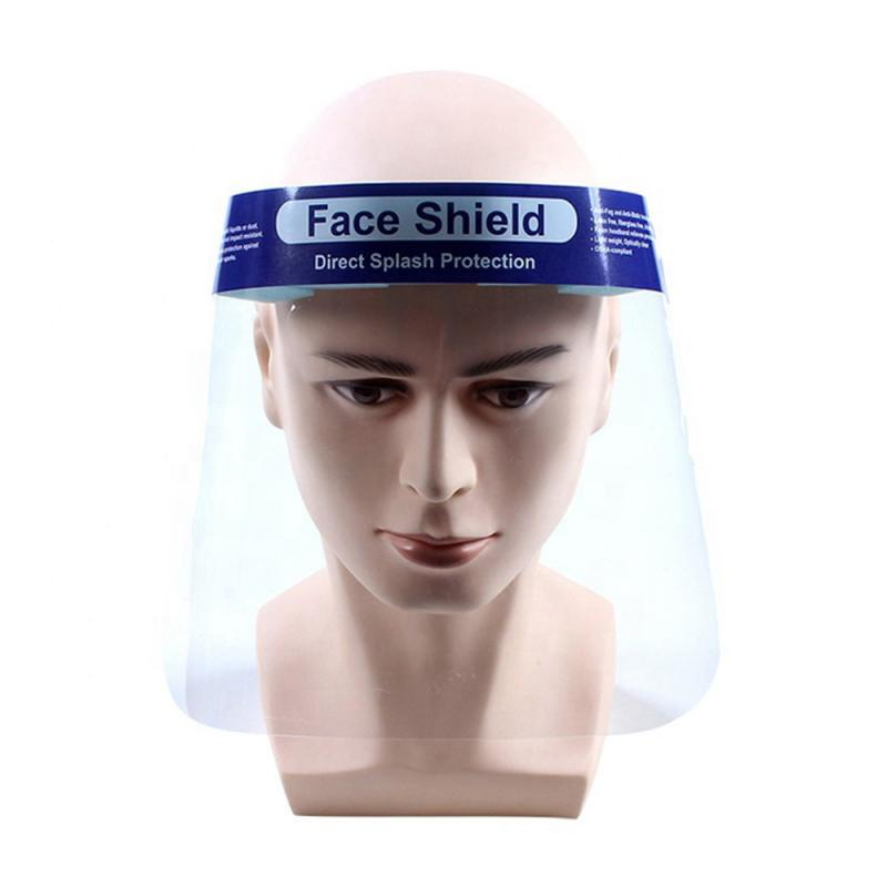 Splash-proof Dust-proof Mask Head-mounted Transparent Protect Mask Adjustable Protective Face Mask Full Face Mask