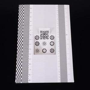Image 2 - Professional Focus Calibration Ruler Folding Card Lens Calibration Alignment AF Micro Adjustment Ruler Chart 19x12.3cm Mayitr