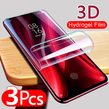 3pcs Soft Film For Samsung Galaxy S7 edge S10 S20 Plus Ultra Screen Protector For A50 A51 A70 A30S S10E Protective No Glass image