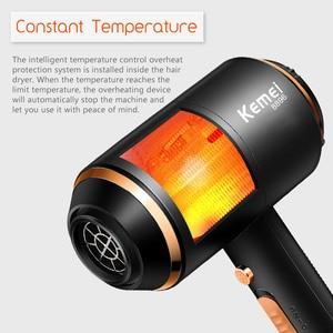 Image 4 - Professional Hair Trockner 4000 Wind Power Elektrische Schlag Trockner Heißer/kalte Luft Haartrockner Barber Salon Werkzeuge 210 240V 45D