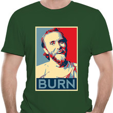 Varg Vikernes - BURN T shirt varg vikernes burzum varg burn church churches fire meme hope poster hope-5562D(China)