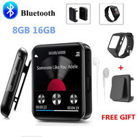NEW BENJIE Bluetooth MP3 Player Music Player Touch Screen HiFi Metal Player with FM Radio,Voice Record Mini Walkman for sport