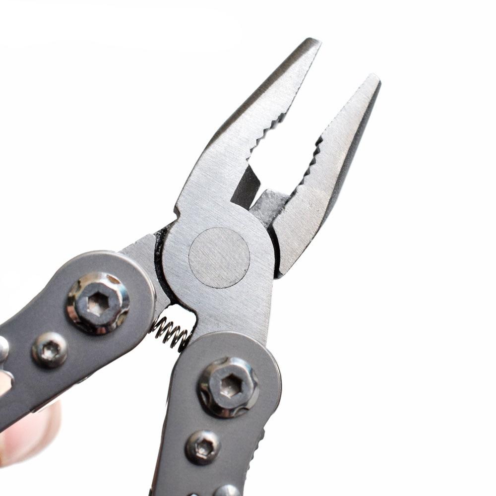 Több zsebű Mini összecsukható fogó hordozható kültéri - Kézi szerszámok - Fénykép 4