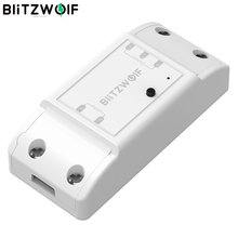 BlitzWolf BW SS4 Basic 2200W 10A 1/2 Way WIFI DIY Smart Home Switch Module Remote Controller Socket Work with Google Assistant