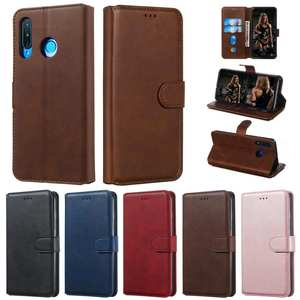 Classic Case For Huawei P20 P30 Lite 360 PU Vintage Leather Wallet Cover Case For Huawei P30 Lite P20 Lite Phone Protector Cover