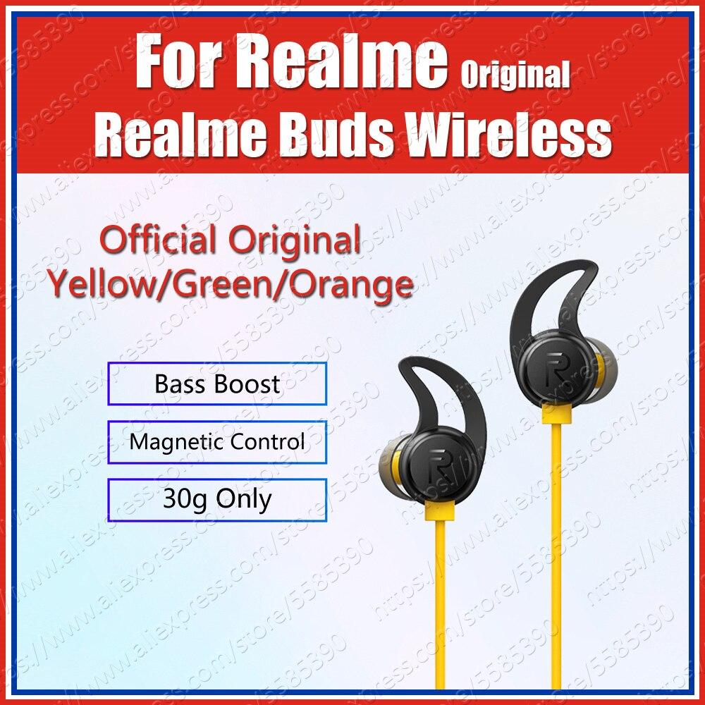 Rma108 Ipx4 Original Oppo Realme Buds Air Wireless Earphones Bass Headset Realme X50 Pro 5g 6 Pro X2 Pro 5i 5 Pro Xt Q Bluetooth Earphones Headphones Aliexpress