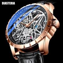 Top Brand Luxury Watch Men Tourbillon Automatic Mechanical
