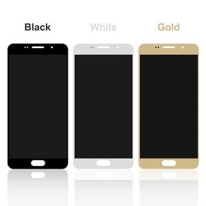 Image 5 - 5.2 LCD pour Samsung A5 2016 LCD affichage A510 A510F A510M SM A510F écran tactile numériseur LCD pour Samsung A5 A510 noir/blanc