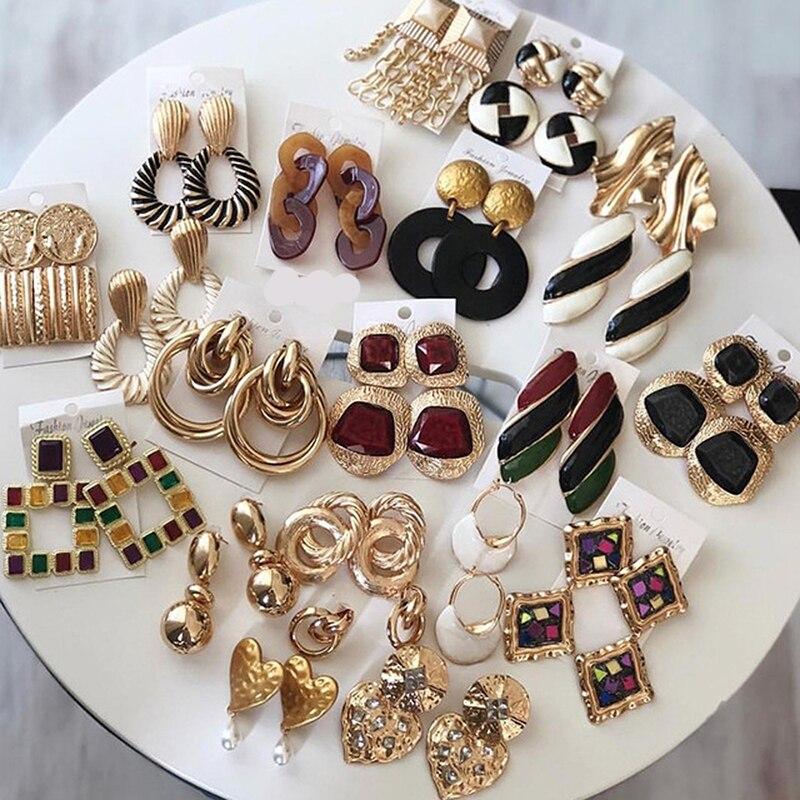 Fashion FRUIT SERIES Strawberry Statement Dangle Ear Stud Boucles d/'oreilles femme bijoux