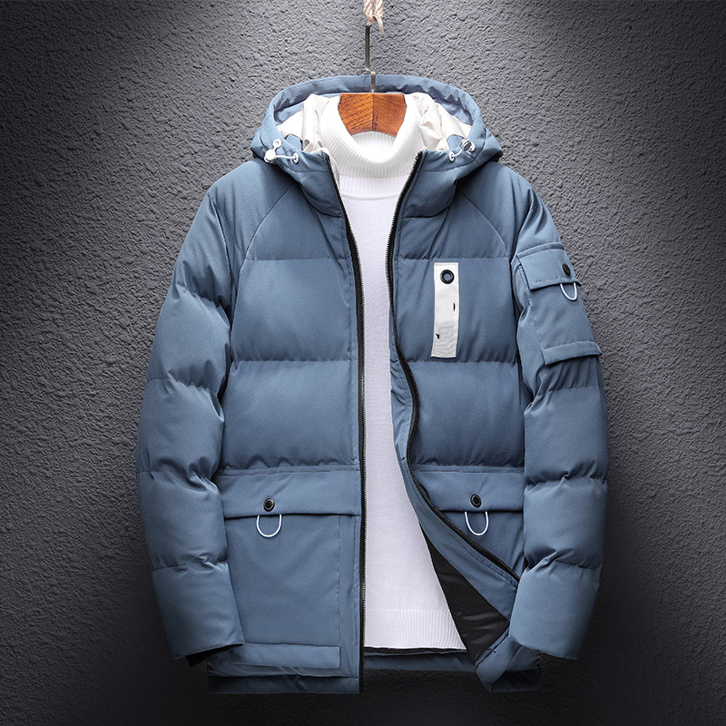 Thick Down & Parka Coat Oversize 6XL 7XL 8XL 2020 Brand Keep Warm Winter Men's Padded Jacket
