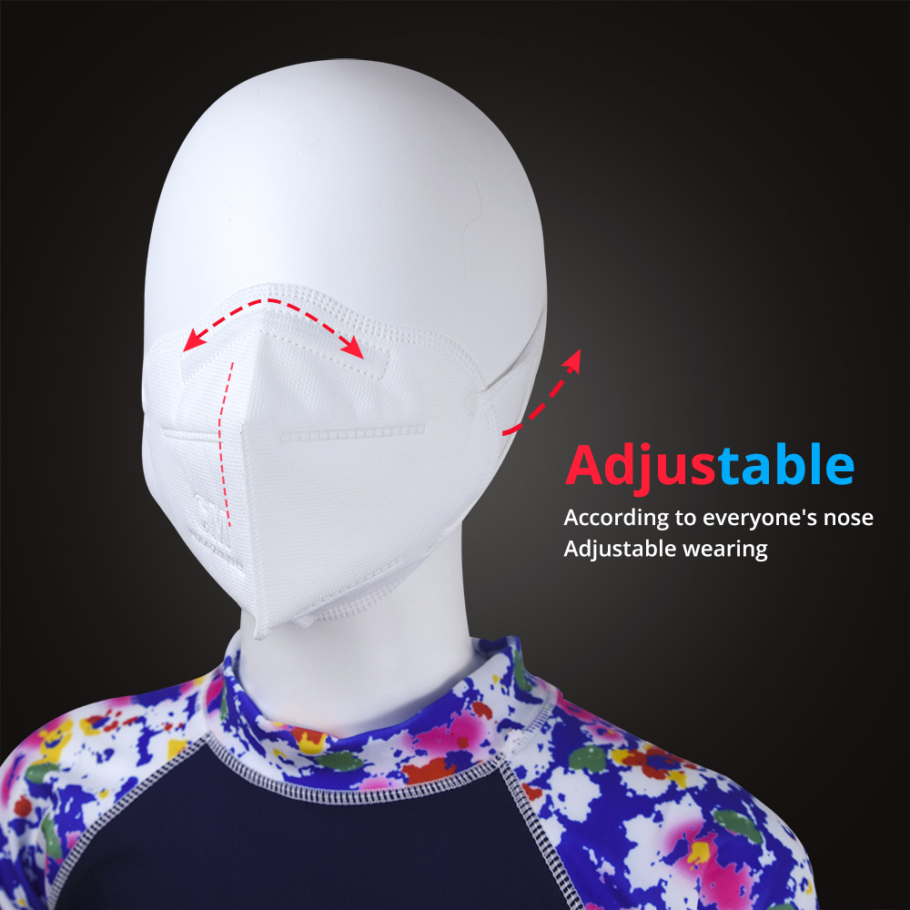 Image 2 - KN95 Mouth Mask PM 2.5 Breathable Dust Face Mask Carbon Protective Paper Anti Haze Gas MaskMasks
