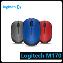 Logitech M170 2.4GHz Wireless Mouse 1000 DPI with Nano Receiver for PC Computer Peripheral logitech mk245 2 4ghz wireless mouse and keyboard combos set support waterproof 1000dpi with tiny nano receiver ergonomic design