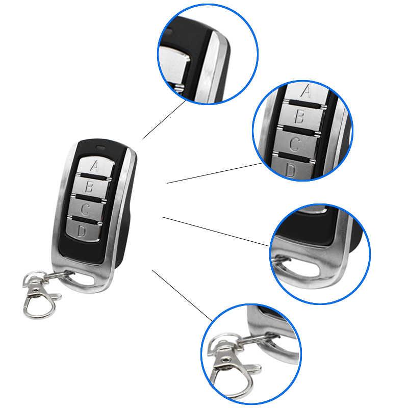 2019 ERREKA télécommande de porte de garage 433.92MHz code roulant code fixe