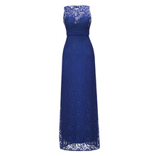 Dressv Royal Blue Scoopคอยาวชุดราตรีประดับด้วยลูกปัดแขนกุดราคาถูกงานแต่งงานอย่างเป็นทางการSheathชุดราตรี