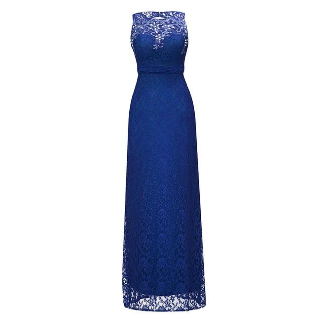Dressv 로얄 블루 특종 목 긴 저녁 드레스 구슬 민소매 저렴한 결혼식 파티 공식 드레스 칼집 이브닝 드레스