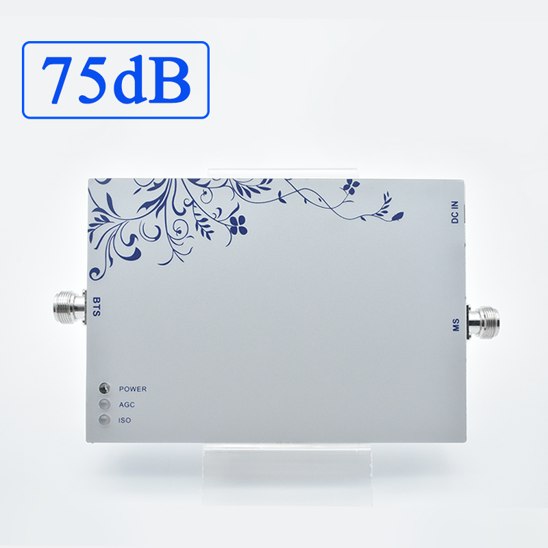 Lintratek 75dB 3G Repeater 1900Mhz Band 2 Signal Booster AGC MGC UMTS Mobile Phone Amplifier 25dBm PCS High Gain Larger Coverage