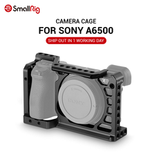 SmallRig Dslr камера Rig клетка для Sony A6500 /A6300 камера из алюминиевого сплава клетка W/ Arca швейцарская QR пластина (обновленная версия) 1889