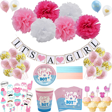 Baby Shower Boy Girl Decorations Set It's a Boy It's a Girl oh baby Balloons Gender Reveal Kids for Baby Shower party decoratio baby shower boy girl decorations set it s a boy it s a girl oh baby balloons gender reveal kids birthday party baby shower gifts