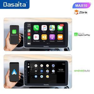 "Image 3 - Dasaita 1 Din Android 10.0 TDA7850 10.2"" IPS Universal Car Radio Nissan Toyota Auto Stereo GPS Navigation Carplay 4G 64G BT 5.0"