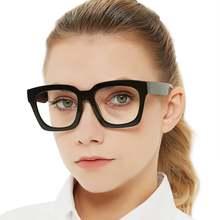 Синий светильник блокирующие очки женские прозрачные Крупногабаритные