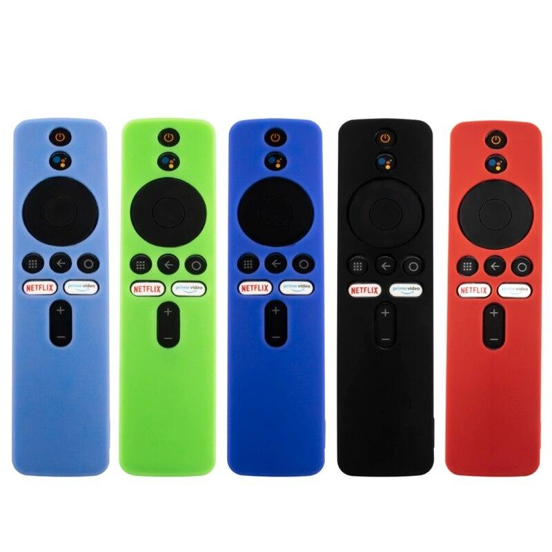 Protective-Cover Remote-Control-Case Mi-Box Anti-Slip Xiaomi Soft-Silicone Skin for Shockproof