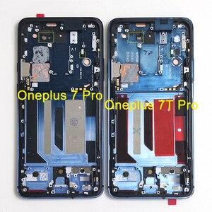 "Image 3 - 6.67 ""Original Supor Amoled M & SenFor OnePlus 7 Proหน้าจอLCD + Digitizerแผงสัมผัสสำหรับoneplus 7T Pro LCD"