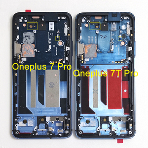 "Image 3 - 6.67 ""מקורי Supor Amoled M & SenFor OnePlus 7 Pro LCD תצוגת מסך + מגע פנל Digitizer מסגרת עבור oneplus 7T Pro LCD"