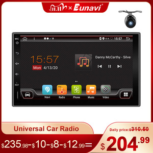Image 1 - Eunavi Android 10 2 Din Car Radio Multimedia Video Player Universal 7 HD Screen Audio Stereo Autoradio Navigation GPS NO DVD