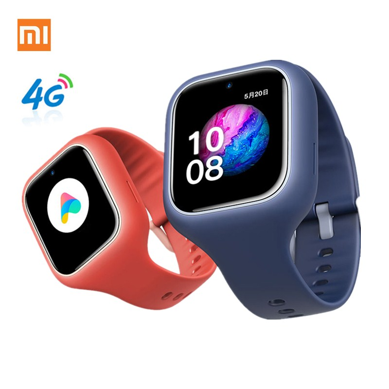 Xiaomi MiTU Kids Smart Watch 3C 4G 1.3 Inch 2MP Camera Phone Watch IPX7 Waterproof Children AI Study Smartwatch Chinese Version