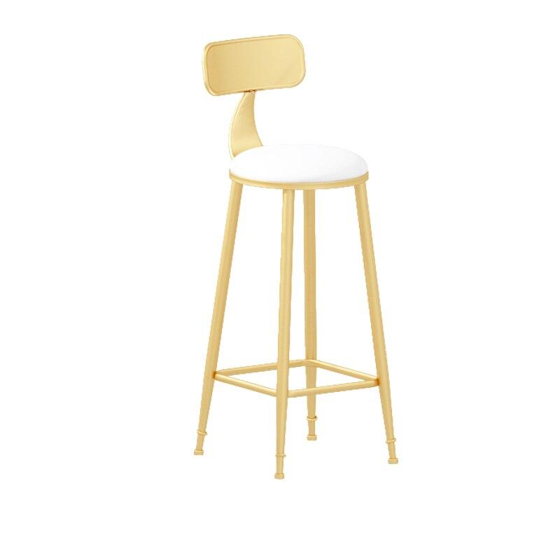 Nordic Marble Bar Table Chair Domestic Bar Chair Modern Simple Bar Stool Coffee Bar Table Chair
