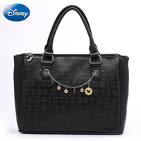 Disney Shoulder Bags Women Large Tote Bag Mickey Mouse Pu Lady Handbag Leisure Travel luxury Handbags Women Bags Designer