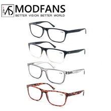 Oversized Reading Glasses Men Women Large Rectangle Readers Eyeglasses, Unbreakable Presbyopic Glasses Diopter from +1.0...+4.0