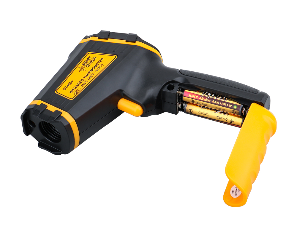 Non Contact Infrared Thermometer Gun to Measure Surface Temperature of Hazardous Object 28