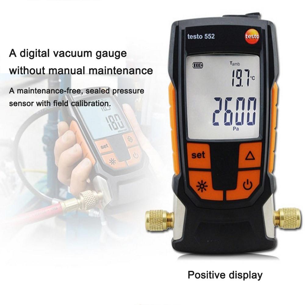 freon manifold medidor pressão ar bluetooth digital