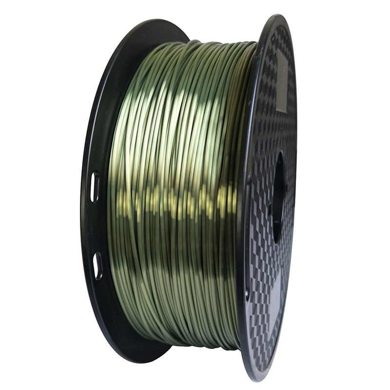 Silk PLA Bronze 3d Printer Filament 1.75mm 1kg Silky Bronze Shine Shiny 3D Printing Material Supplies Printing Thread