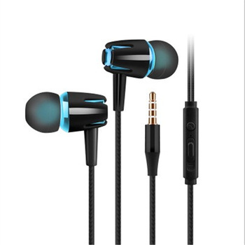 New Headphones Wired Earphone E18 Adjustable Volume Pause/play For Huawei Xiaomi Honor 3.5mm Earbuds Wire Headset For Smartphone image
