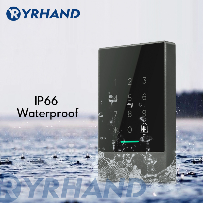 IP66 Waterproof WiFi App Access Control Reader, Electronic Furniture Digital Keypad Door Lock Card Reader Bluetooth Smart Lock
