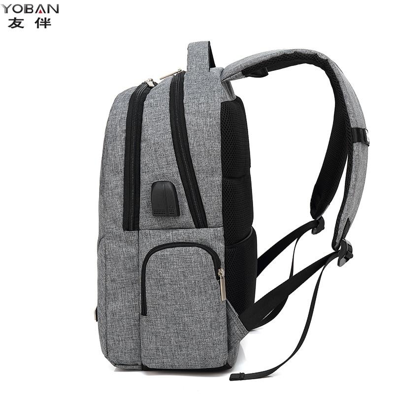 Smart USB Charging Backpack Casual Business MEN'S Bag Waterproof Laptop Backpack