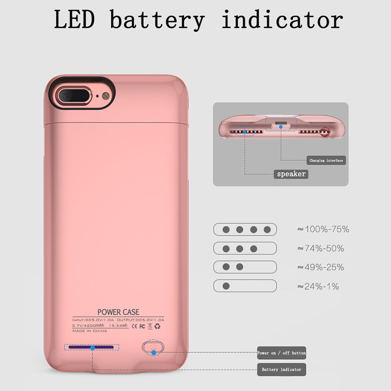 JAVY Portable Power Bank Charger Cover For IPhone 6 S 7 8 Plus Battery Charger Case For IPhone X R Max Portable Magnetic Stand