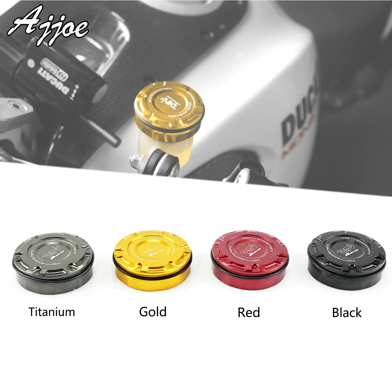 Motorcycle Rear Brake Fluid Reservoir Cap For Ducati Streetfighter 848 Streetfighter1098 Multistrada <font><b>1200</b></font> Multistrada1200S image