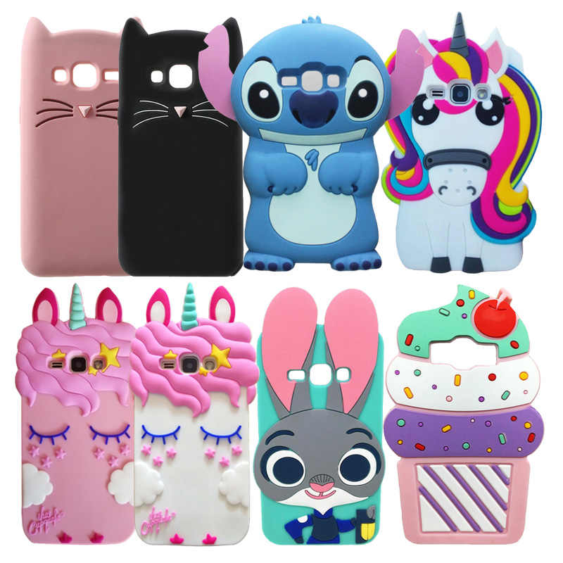 Leuke Case Voor Samsung Galaxy J1 2016 J120 Silicon Soft Cover Voor Samsung J1 (6) j120 J1 2016 J120F SM-J120F Telefoon Case Cover